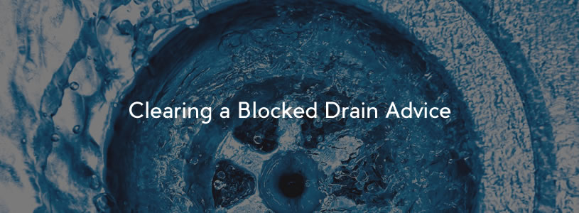 Clearing a Blocked Drain Advice