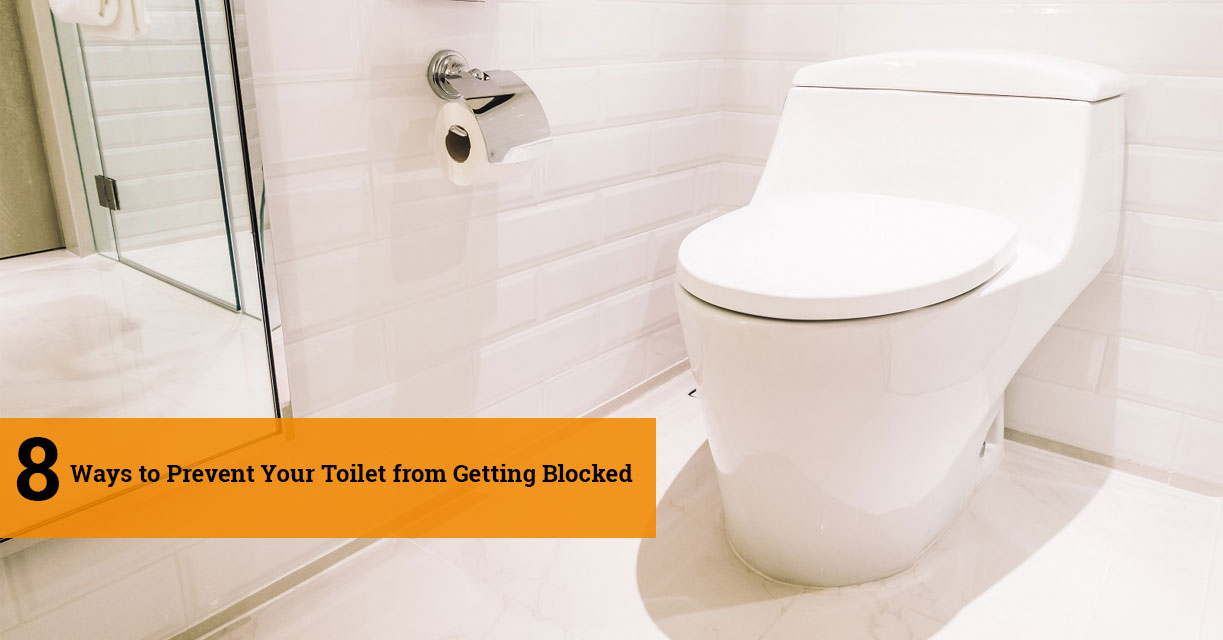 8 Ways to Prevent Your Toilet from Getting Blocked
