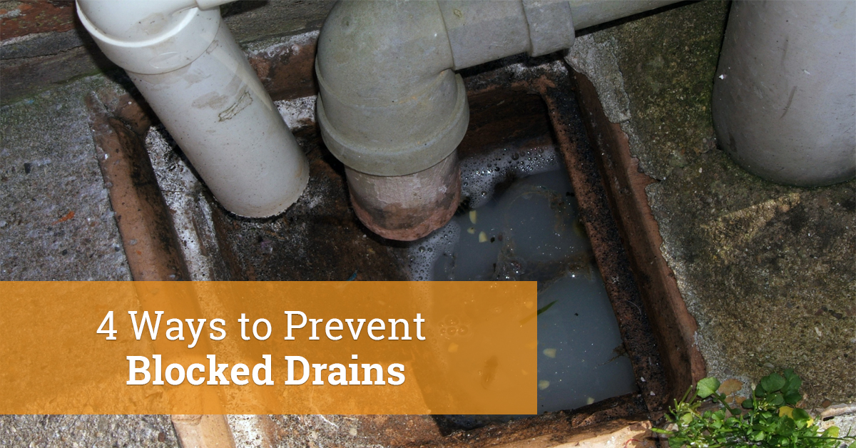 4 Ways to Prevent Blocked Drains | Infographic