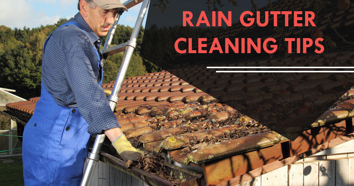 Rain Gutter Cleaning and Maintenance Tips