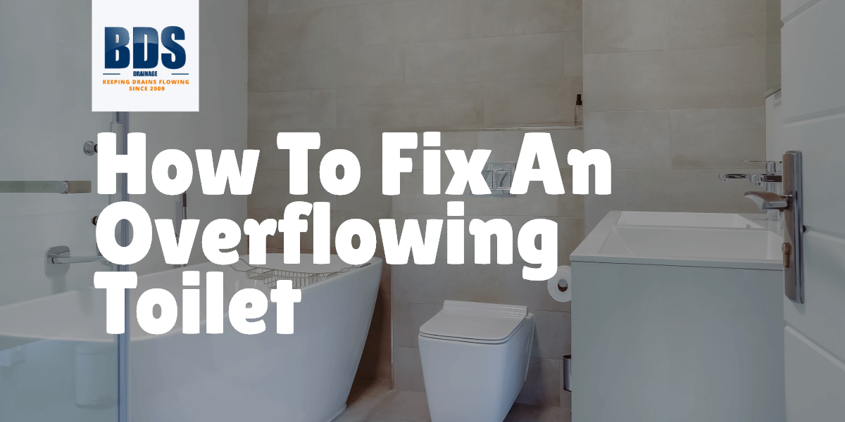 How to Fix an Overflowing Toilet