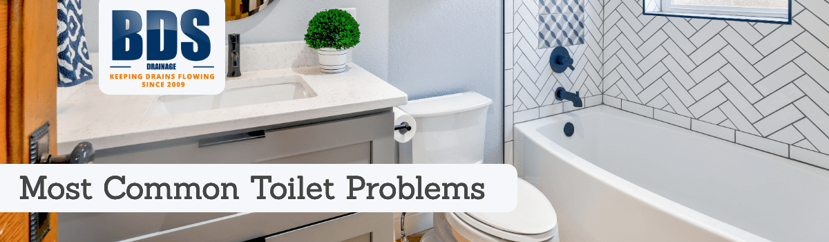 Most common toilet issues