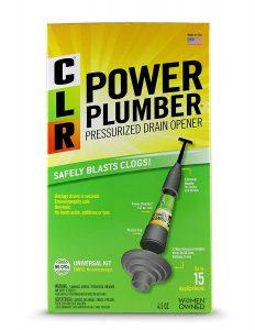 CLR PP4-5 Power Plumber Drain Opener